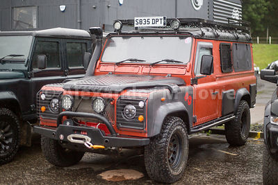 Land Rover Defender at Land Rover specialists Engine 710