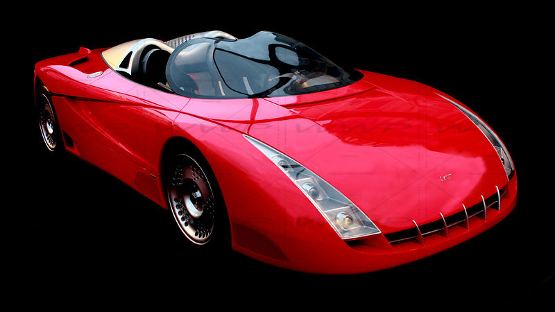 Fioravanti F 100 R Concept 2000 Art Photographs