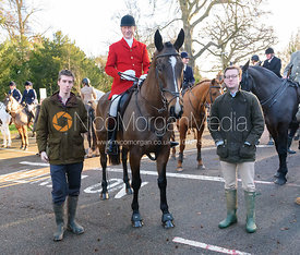 Nicholas Leeming MFH - Boxing Day Meet of the Cottesmore Hunt, Oakham 26/12