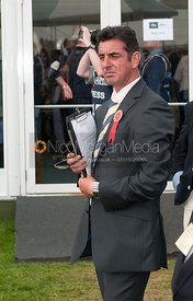 Spencer Sturmey - prizegiving ceremony - Land Rover Burghley Horse Trials 2012.