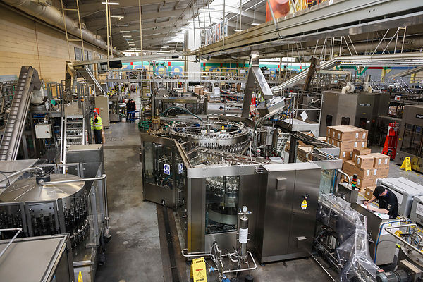 William Grant bottling plant