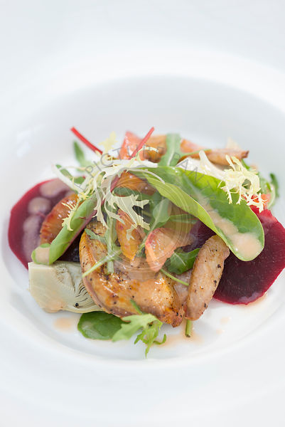 Salad of Roast Quail