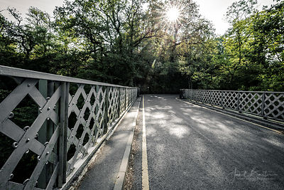 The road bridge, Devils Bridge - as featured in Hinterland