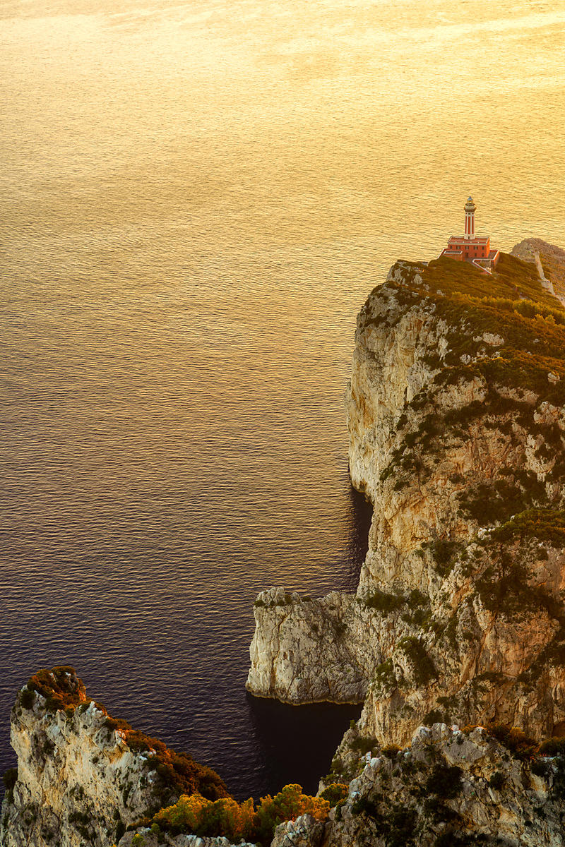 Punta Carena Lighthouse Sunset