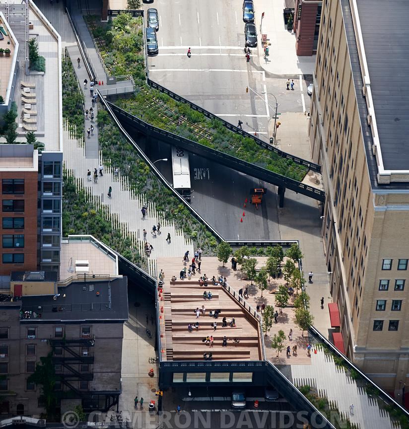 Aerial of the High-Line