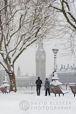 Southbank London - winter