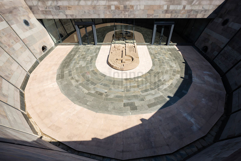 Open-air Courtyard at the Armenian Genocide Museum