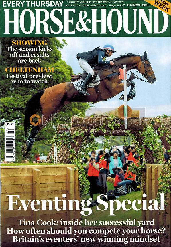 Horse & Hound front cover, March 2018