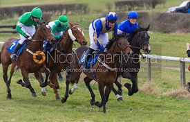 Charity Flat Race, Div I - The Quorn at Garthorpe 21st April 2013.