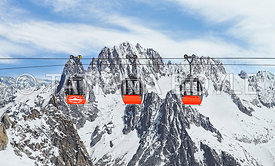 Valee Blanche Aerial Tramway