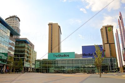 BBC Studio Building at Media City, Salford