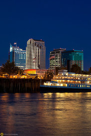 Delta King and the Sacramento Skyline #12