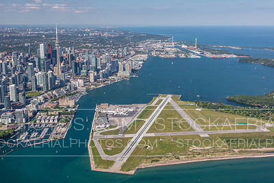 Billy Bishop Airport and Downtown Toronto