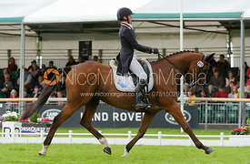 Hannah Bate and FINBURY HILL - Burghley 2015