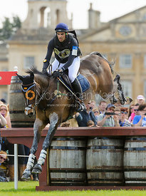 Sebastian Mateu and BORN AGAIN - Cross Country - Mitsubishi Motors Badminton Horse Trials 2013.