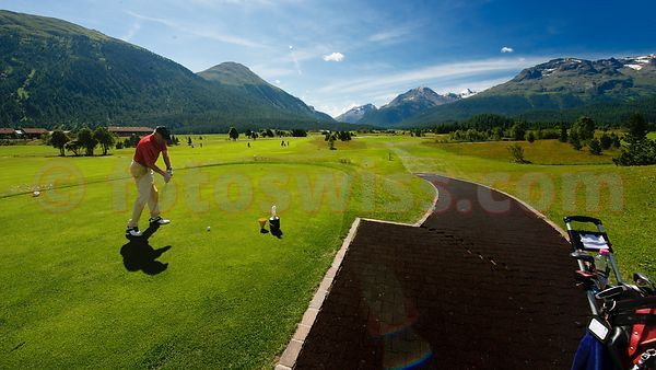 Engadin Golf Course Samedan
