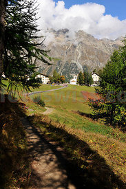 Nordic Walking from Sils to Val Fex