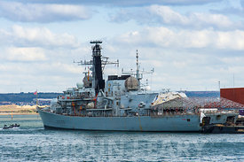 HMS Richmond (F239).