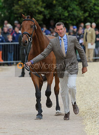 Mark Todd and LEONIDAS II- First Horse Inspection, Mitsubishi Motors Badminton Horse Trials 2014