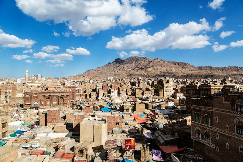 Elevated View of Old Sana'a