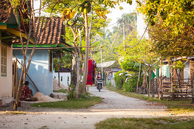 Village indonesien