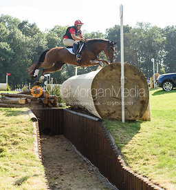 Bruce Davidson Jr and PARK TRADER, cross country phase, Land Rover Burghley Horse Trials 2018
