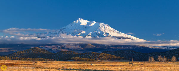 Panorama of Mount Shasta #1