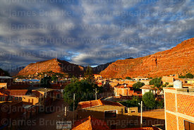 View of Camargo and nearby rock formations, Chuquisaca Department, Bolivia