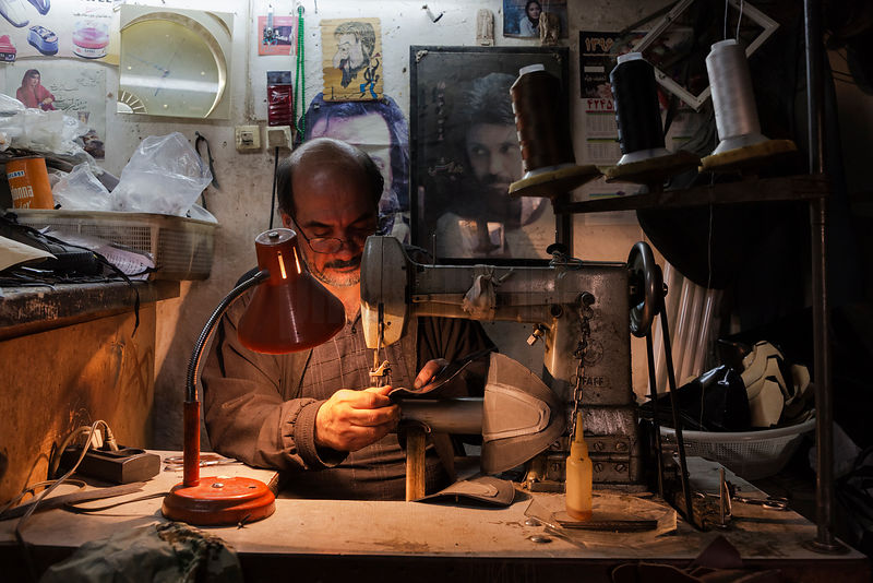 Portrait of a Shoemaker