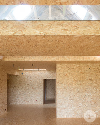 Wooden construction by Delphine Waiss Architecture., Paris.