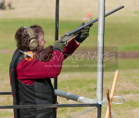 Quorn Hunt Clay shoot at Quenby Hall, 28/3