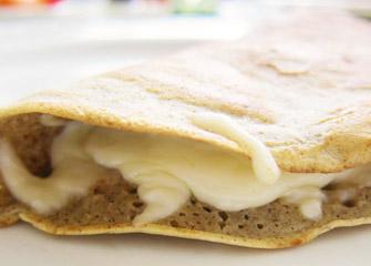 Crêpes de sarrasin aux fromages d'ici