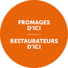 Fromages d'ici. Restaurateurs d'ici. - Photo