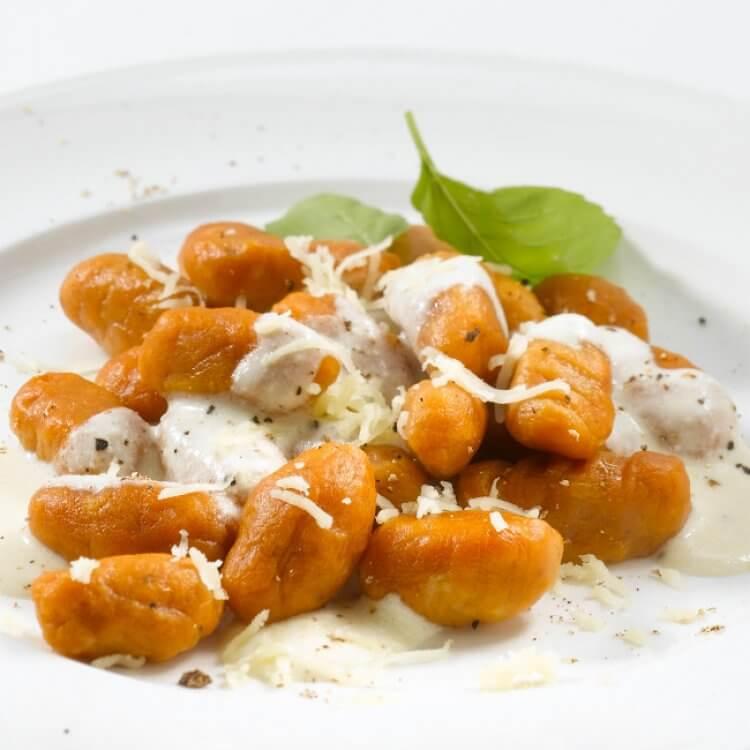 Gnocchis à La Citrouille Sauce à La Crème Et Au Cru Des érables