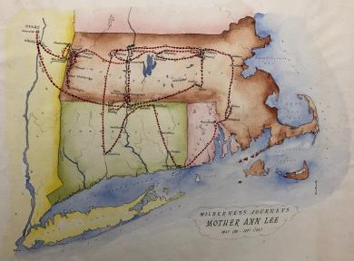 SVWG: Wilderness Journeys [of] Mother Ann Lee (May 1781 - Sept 1783)