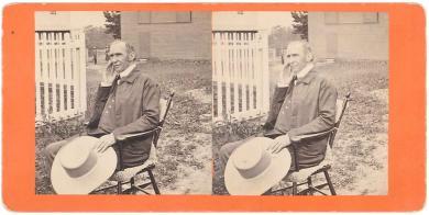 Portrait of Elder Frederick William Evans