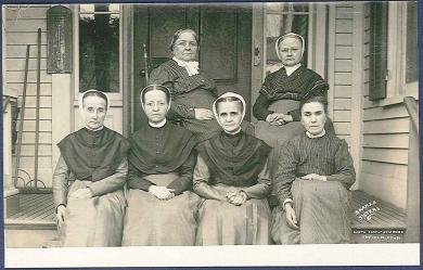 Shaker Sisters, North Family Shakers, Enfield, Conn.