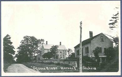Square House, Harvard Shakers