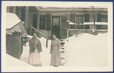 [Eldress Frances Hall and Gladys, Church Family, Hancock, MA]