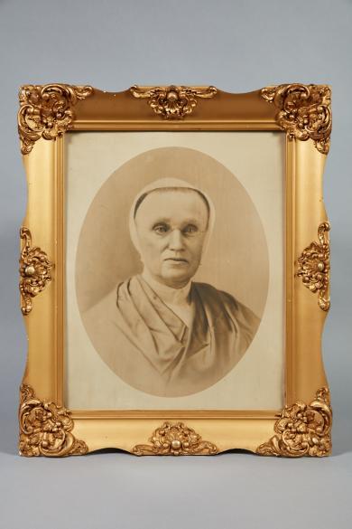 Portrait of Sister Anna Dodgson, Church Family, Mount Lebanon, NY