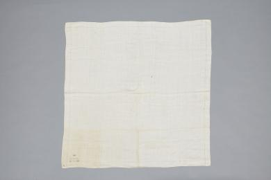 Handkerchief believed to have belonged to Father Joseph Meacham, Mount Lebanon, NY