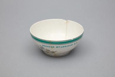 1953.6358.1 - Bowl, Cereal - Cereal bowl stamped