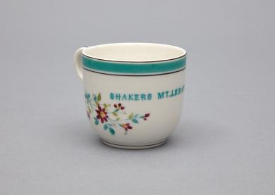 1953.6361.1 - Cup, Coffee - Porcelain cup stamped
