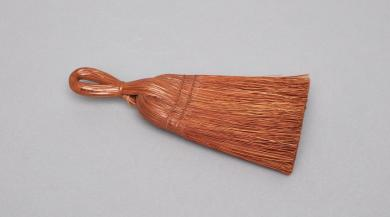 Whisk broom given to Sister Annie Bell Tuttle, Harvard, MA