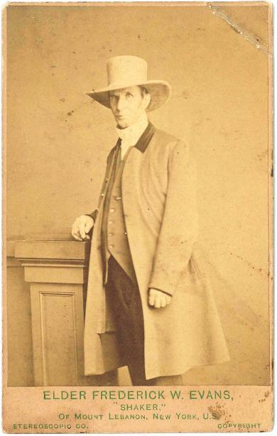 Elder Frederick W. Evans Shaker