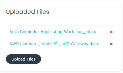 Angular File Uploader