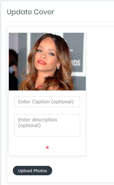 Angular Photo Uploader