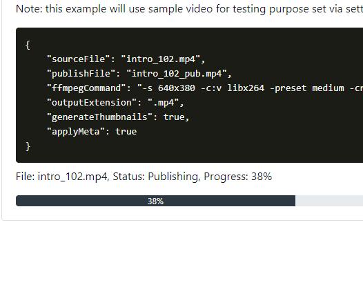 ASP.NET Media Handler Pro - Screenshot
