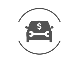 Upfront Service Pricing icon