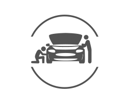 Land Rover oil change icon